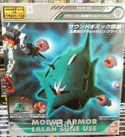 USA Bandai MSIA Gundam Mobile Armor Elmeth Figure with Sound Effect & Funnels