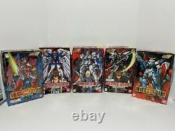 Vintage Gundam Action Figure Model Lot of 9 Bandai 1995-1998
