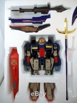 1989 Bandai Japon DX Musha Tissu Zeta Gundam Mib Robotech Chogokin Godaikin