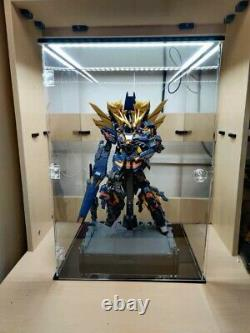 19.5 Cas D'affichage Acrylique Pour Gundam 1/60 Chiffres D'action Licorne Banshee