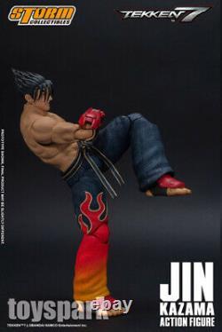 À Stock Collectibles De Stock Tekken 7 Jin Kazama Figure D'action