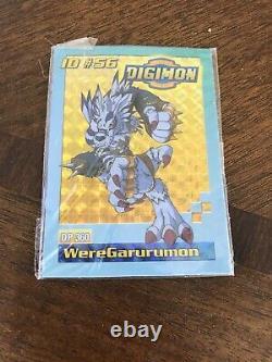 Bandai Digimon Digivolving Weregarurumon Garurumon Figure Card Saison 1