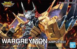 Bandai Digimon Wargreymon Amplified Model Kit Figure-rise Standard USA Vendeur