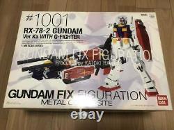 Bandai Gundam Fix Figuration Metal Composite #1001 Gundam Ver. Ka Avec G-fighter