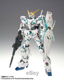 Bandai Gundam Fix Figuration Métal Composite Gundam Unicorn Destroy Mode USA