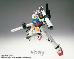 Bandai Gundam Fix Figuration Metal Composite Rx-78-02 Action Figure Nouvelle