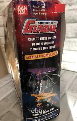 Bandai Gundam Mobile Suit Cruiser Peer Gynt Deluxe Cuirassé Playset 2001
