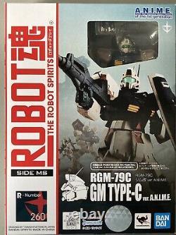 Bandai Gundam Robot Spirits Damashii Rgm-79c Gm Type C Action Personnalisée Figure