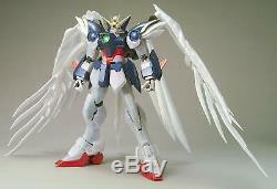 Bandai Hobby Wing Gundam Zéro Sur Mesure Revêtement Pearl, Action De Qualité Parfaite Figure