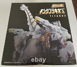 Bandai L'âme De Robot En Métal De Chogokin Titanus Megazord Figure D'action