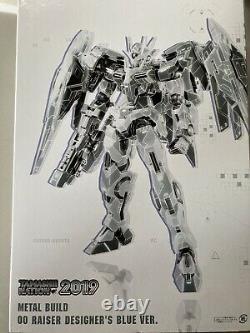 Bandai Metal Build Robot Spirits Gundam 00 Raiser Designer Blue Action Figure