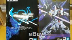 Bandai Métal Construire Figure Gundam Seed Grève Freedom Soul Bleu Limitée Ver