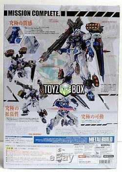 Bandai Métal Construire Gundam Seed Astray Blue Frame (full Set Weapon) Action Figure