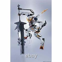 Bandai Metal Robot Côté Spiritueux Ms Barbatos Lupus Rex Action Figure Avec Suivi