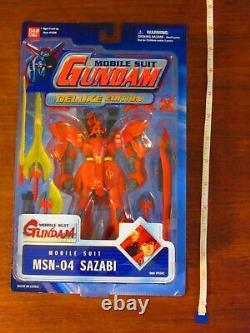 Bandai Mobile Suit Gundam Deluxe Edition 2002 Msn-04 Sazabi Nouveau 11 Toonami