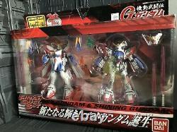 Bandai Mobile Suit Gundam Fighter Dieu Est Née D'action Brûler Figure Msia