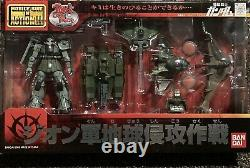 Bandai Mobile Suit Gundam Fighter Zaku 2 Invasion Force Tank Action Figure Msia