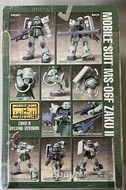 Bandai Mobile Suit Gundam Fighter Zaku 2 Version 2 Ms En Action Figure Msia