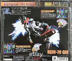 Bandai Mobile Suit Gundam The Ride Gm Adam Et Jack Action Figure Msia Lot