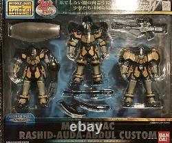 Bandai Mobile Suit Gundam Wing Maguanac Rashid Abdul Auda Action Figure Msia