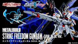 Bandai Robot Spirits 2018 Metal Build Strike Freedom Gundam Soul Blue Ver