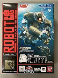 Bandai Robot Spirits Damashii Gundam Zaku Mariner Underwater Type Action Figure