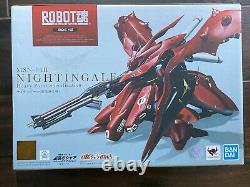 Bandai Robot Spirits Damashii Mobile Gundam Chars Nightingale Action Figure