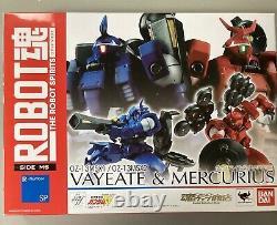 Bandai Robot Spirits Damashii Mobile Gundam Vayeate & Mercurius Action Figure
