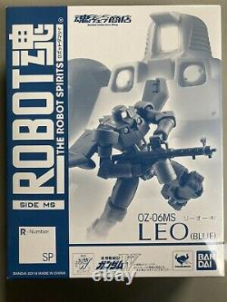Bandai Robot Spirits Damashii Mobile Suit Gundam Blue Asia Leo Action Figure