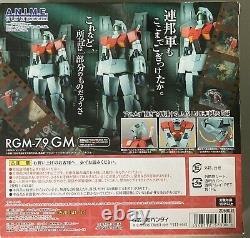 Bandai Robot Spirits Damashii Mobile Suit Gundam Rgm-79 Gm Action Figure