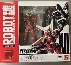Bandai Robot Spirits Damashii Mobile Suit Gundam Seed Testament Action Figure
