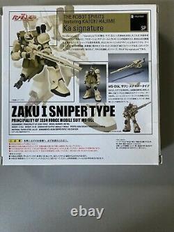 Bandai Robot Spirits Damashii Mobile Suit Gundam Zaku Sniper Type Action Figure