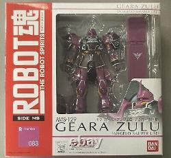 Bandai Robot Spirits Mobile Suit Gundam Licorne Geara Zulu Angelo Action Figure
