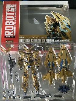 Bandai Robot Spirits Mobile Suit Gundam Licorne Phenex Détruire Action Figure