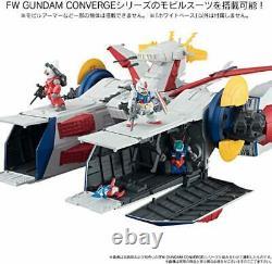 Bandai Shokugan Gundam Converge White Base Action Figure
