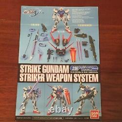 Bandai Strike Gundam 1/60 Système D'armes De Frappe Figure D'action Constructible Avec Boîte