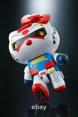Bandai Tamashii Nations Gundam Rx-78-2 X Bonjour Kitty Chogokin Figure Nouveau Dans La Main