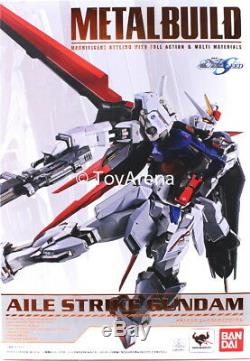 Bandai Tamashii Nations Métal Construire Gundam Seed Gundam Grève Aile Action Figure