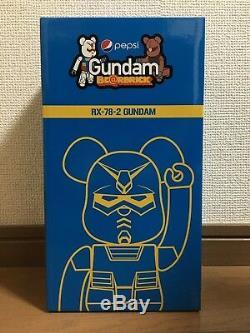 Be @ Rbrick 400% Pepsi Gundam Rx-lottery Limitée 78-2 / 250 Seulement Rare Bearbrick