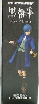 Black Butler Ciel Phantomhive 720 Medicom Rah Real Action Hero 1/6 Figure New B