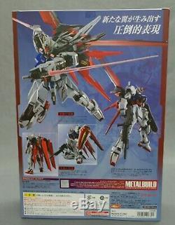 Build Metal Mobile Suit Gundam Seed Gundam Bandai Grève Aile Japon Nouveau