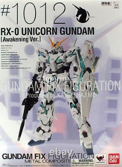 Composite Métallique #1012 Gundam Rx-0 Licorne Réveil Ver Figurine En Stock USA