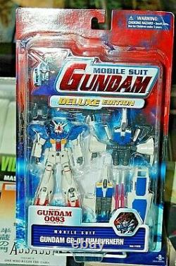 Costume Mobile Gundam 0083 Gp-01 Fullburnern Action Figure Nouveau! Libéral S/h Bandai