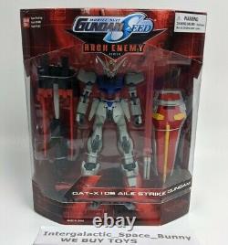 Costume Mobile Gundam Seed Aile Strike Arch Enemy Action Figure Nib