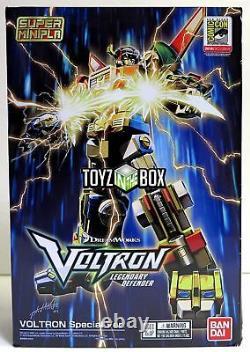 Dans Stock Bandai Shokugan Sdcc 2018 Voltron Exlusice Set Super Mini Kit Pla