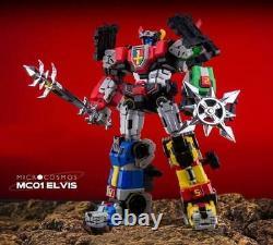 Elvis Figure D'action Micro Cosmos Mc-01 Voltron Golion Décembre