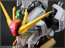 Gsm 1/24 Msz-006 Z Gundam Head Action Figure Painted Led Modèle Collection