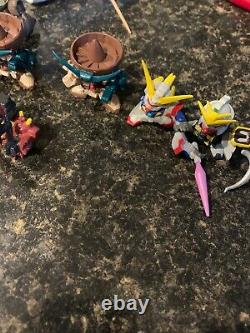 Gundam Fight Superior Defender Sd Lot De 25 1.5 Mini Chiffres 03 Bandai 2003