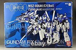 Gundam Fix Figuration Composite Métale Limitée Zplus Blue Bandai Japan Utilisée