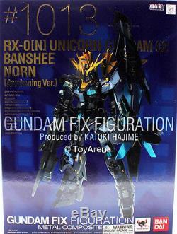 Gundam Fix Figuration Métal Composite G. F. F. M. C Banshee Norn Figurine